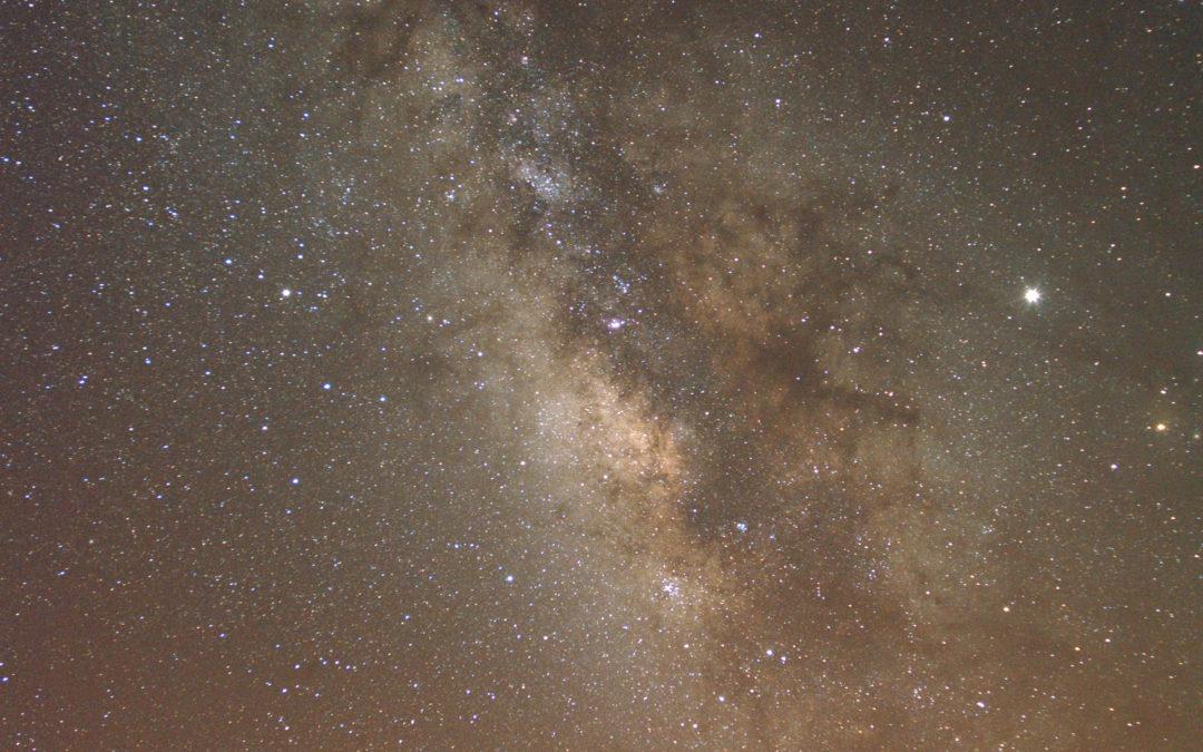 Via Lattea sull'Osservatorio Roques de Los Muchachos