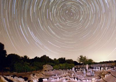 Startrails su Li Muri