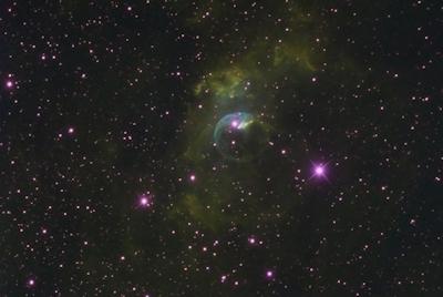 NGC 7635 e complesso CAS-OB2