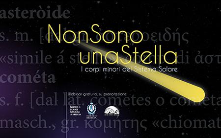 Webinar sui Corpi Minori del Sistema Solare